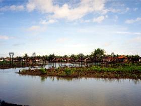 Dorf in den Mangroven