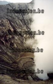 Schwefeldampf am Vulkan Mount Bromo