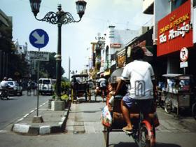 Yogyakarta, Rikschas